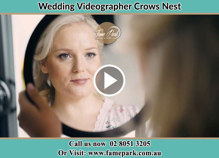 The Bride looking at the mirror Crows Nest 2065