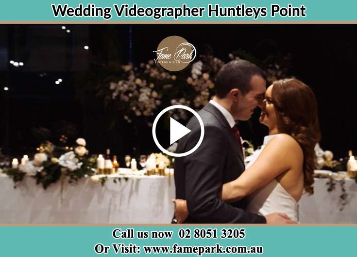 Bride and Groom looking at each other while dancing Huntleys Point NSW 2111
