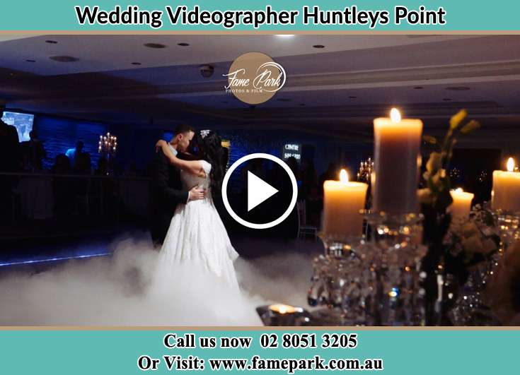 The newlyweds dancing Huntleys Point NSW 2111