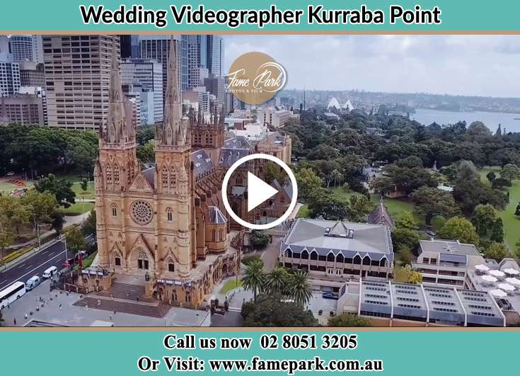 Aerial view of the wedding venue Kurraba Point NSW 2089
