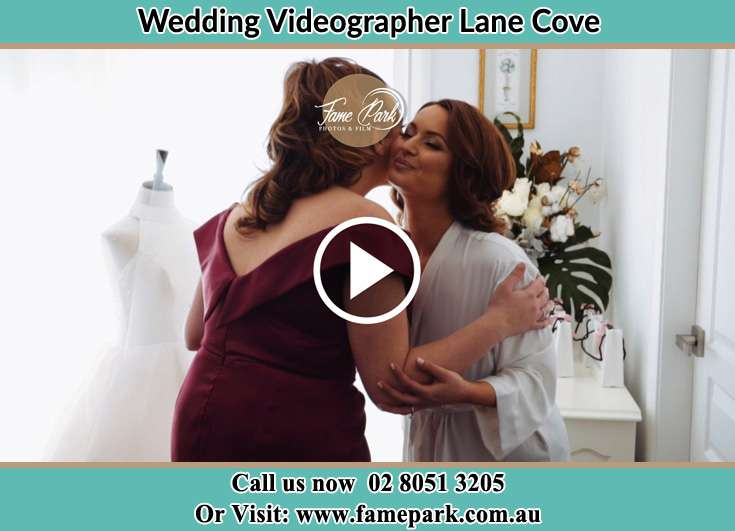 The Bride and her mother greets each other Lane Cove NSW 2066