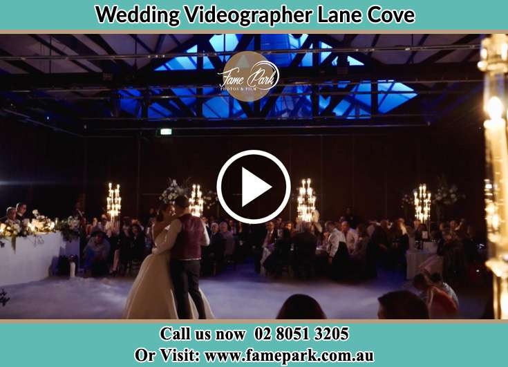 The newlyweds dancing on the dance floor Lane Cove NSW 2066