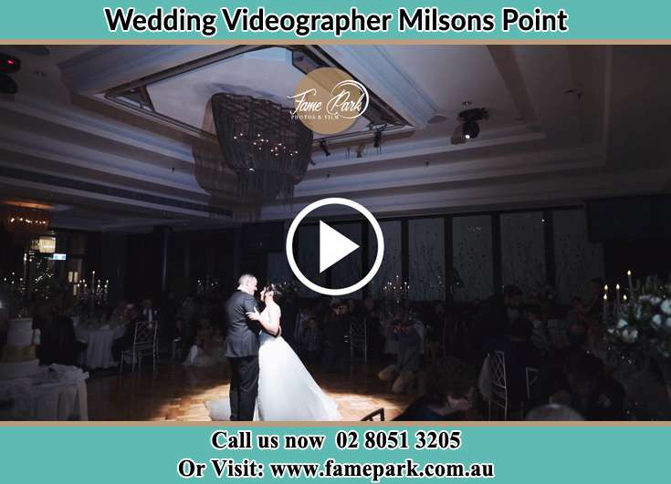 The new couple dancing on the dance floor Milsons Point NSW 2061
