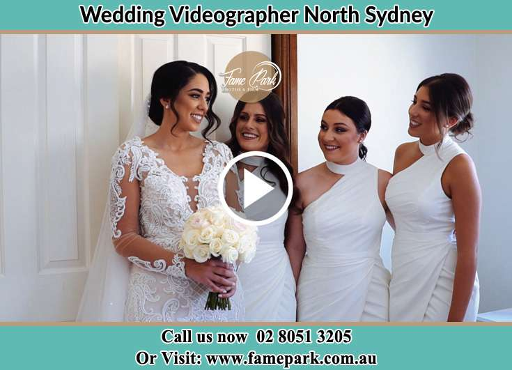 Bride and her secondary sponsors already prepared North Sydney NSW 2060