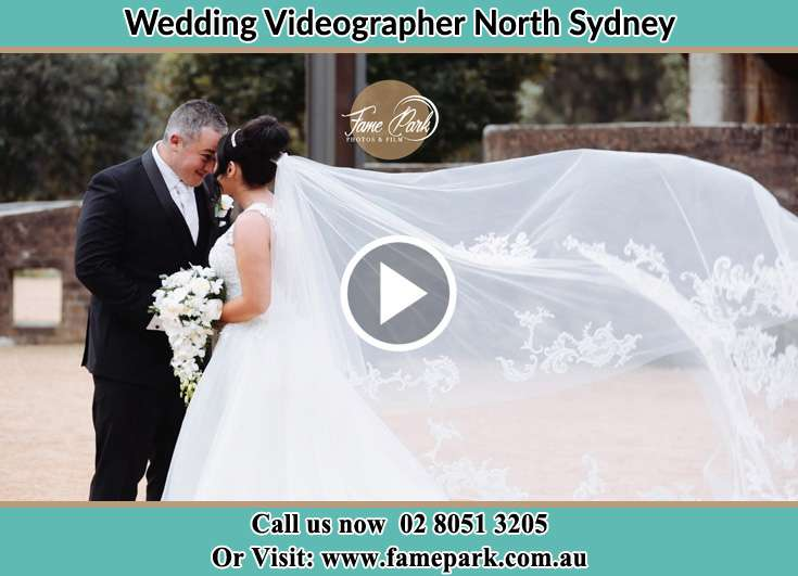 Bride and Groom looking at each other North Sydney NSW 2060
