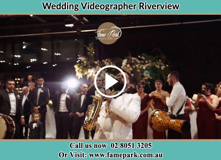 The newlyweds dancing on the dance floor with the band Riverview NSW 2066