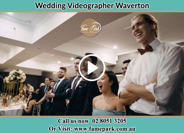 They have fun time at the reception Waverton NSW 2060